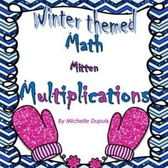 These fun games and worksheets will provide your students with lots of multiplication practice.  This product includes:  Odd or Even Color by Number multiplications Write the missing numbers Arrays Cut and Paste the mittens Multiples Mitten BUMP game Multiplication memory game