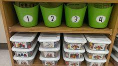Kindergarten Math Centers!