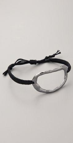 Large Oval Charm Bracelet