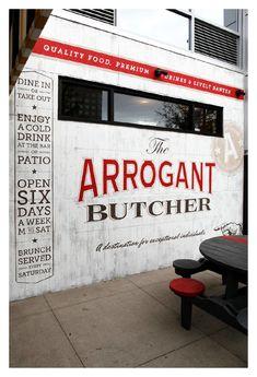 arrogant butcher