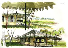 painting of our Nyumbia camps