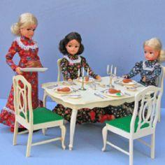 Sindy doll sets.