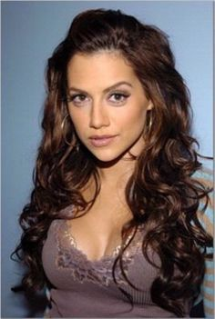 Google Image Result for http://photos.weddingbycolor-nocookie.com/p000016923-m106888-p-photo-288813/wedding-hairstyle-long-romantic-curls.jpg Brittany Murphy, Brittani Murphi, Hair Colors, Makeup, Long Hair, Hair Curl, Hair Style, Curly Hair, Brittani Murphylov