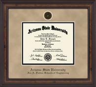 Arizona State University - Ira A. Fulton Schools of Engineering Diploma Frame - Heirloom Edition
