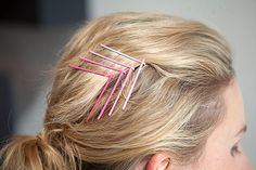 Bobby Pin Hacks - Ways to Use Bobby Pins That Will Change Your Life - Cosmopolitan