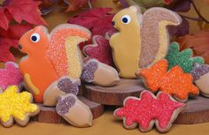 These fall themed cookies by Eleni's New York are peanut-free and tree-nut-free, and ship nationwide.