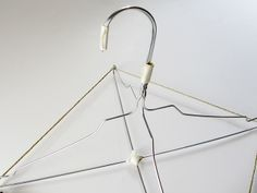 daily perfect moment: DIY: lampshade made from a wire hanger 1