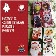 Host a Christmas movie party