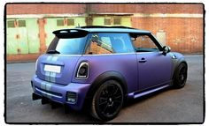 Claudia Miebach's MINI. Beauty Parking gives fans' beautiful MINI a spot in the limelight at MINI United 2012.