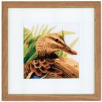 Mother Duck cross stitch