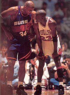 Chuck & Mike, '93 Finals.