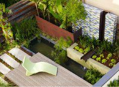 wide array of materials: wood, concrete, tile, metal