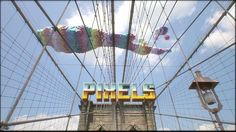 PIXELS by Patrick Jean by ONE MORE PRODUCTION. New York invasion by 8-bits creatures !