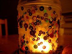 Jam Jar Candle Holders from NurtureStore