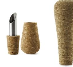 Stylish Cork Wine Stopper and Pourer