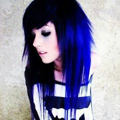 colored hair on pinterest dark blue hair blue hair and