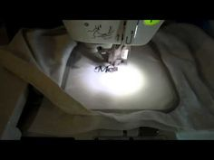 Letter Embroidery with Brother Sewing Machine