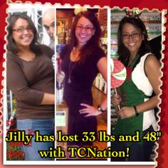 Congrats to my teammate Jilly Leigh! Way to go girl!!!!! Contact me to have your own before and after picture tgiunta.isagenix.com