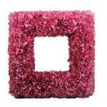 "12"" Fuchsia Pink Hydrangea Frame"
