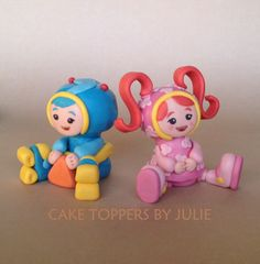 Custom Cakes by Julie: Team Umizoomi Cake Toppers