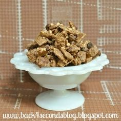 Back For Seconds: Cinnamon Toffee Chex Mix