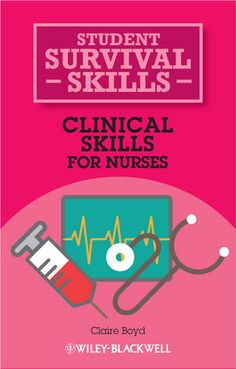 Specifically designed for student nurses, Clinical Skills for Nurses provides a handy, portable introduction to both the knowledge and practical procedures that first year nursing students are required to know.
