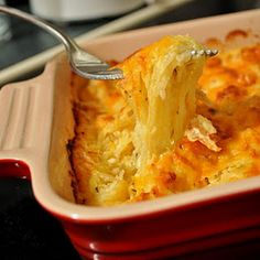 Spaghetti Squash Au Gratin...can't wait to try this..I LOVE spaghetti squash.