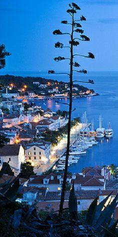 Croatia by night