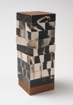 Robert Heinecken  Fractured Figure Sections  1967  Photographs, wood