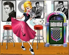 Poodle Skirts and Elvis
