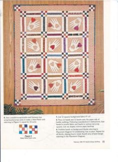 Hearts and Hands quilt