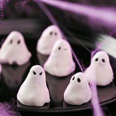 Ghost Halloween Party Recipes from Taste of Home, including Hosts of Ghosts