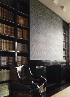 Peter Marino- Giancarlo Giammetti's Paris Library.- with Twombly