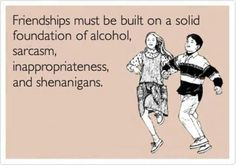 Its all about the shenanigans! :)