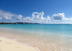 Rendezvous Bay, Anguilla, with St. Martin in the distance