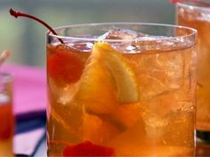 Old-Fashioned Cocktail Recipe : Patrick and Gina Neely : Food Network - FoodNetwork.com