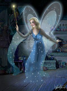 angel, fairi godmoth, pinocchio, blue fairi, dream come true, disney fairies, fairy godmother, blues, disney characters