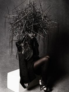 take that, dark places, editorial, hair art, fashion blogs, beauty, fashion photography, avant garde, peter gray