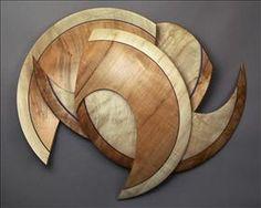 Lathe-turned Figured Maple sculpture