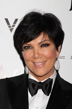 Kris Jenner - Short hairstyles