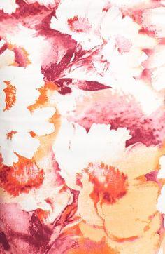 Great floral garden print!