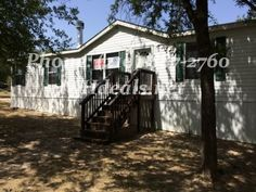 http://mhdeals.net/gallery/bank-repo-homes-with-land-for-sale/San-Antonio-TX-2012FWD42-V (210)-887-2760 A gorgeous 4 bed 2 Bath Used Double Wide Home on .72 acres of land. With 1,512 square feet (27 x 56) and many features this home is perfect for both new and experienced home buyers. The home is in a great corner lot location, just minutes from town. It is a beautiful country home set in a serene rural set...For more info please check out MHDeals.net LIC 36155 #sanantonio #home #texas