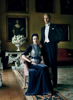 The Duke and Duchess of Windsor as played by Andrea Riseborough and James D'Arcy in Madonna's movie W.E.