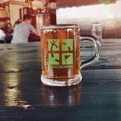 6. Complete a geocaching quest... and celebrate with a beer!