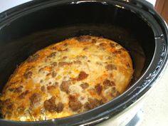 Spicy Paleo: Crock pot Breakfast Casserole