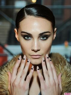 #NYFW Fall 2013 Nail Trend #Nails #obsessed #needthisinmylife #needthisonmynails