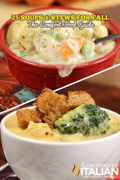 The Best Ever 25 Soups and Stews for Fall   {{Recipe link - http://buff.ly/1edQkKQ}}