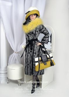 Fashion Doll.....     Made in Paris Creations
