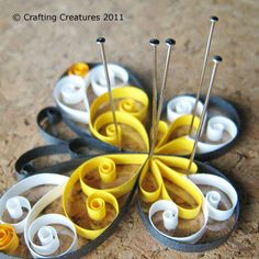 quilled butterfly tutorial