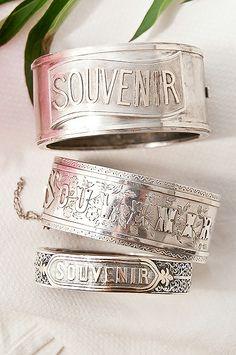 Victorian souvenir bangles